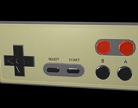 Low poly joystick 1 3D model