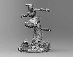 Street Fighter Juri 3D Print Stl Model Diorama 3D print