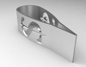 Dollar Money Clip 3D print model