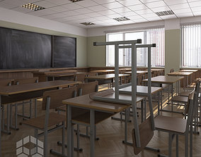 Classroom 2 3D model