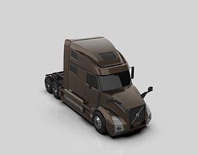 2020 3D print model volvo vnl 860 truck