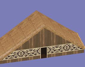 Maloca Oca Vernacular Construction 3D asset