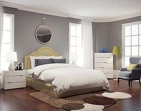 bedroom 3D Modern Bedroom