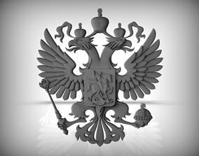 Gerb RUSSIA 3D print model