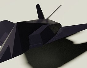 plane Lockheed F-117 Nighthawk 3D