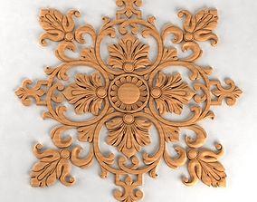 3D print model Carved decor