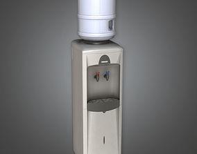 Standing Water Dispenser HPL - PBR Game Ready 3D model