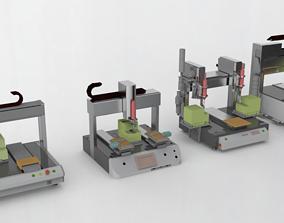Auto-Screwdriving Machine 3D