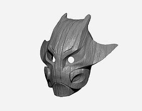 Juggernaut Boar tree mask 3D printable model