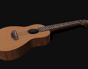 Ukulele - Lowpoly - PBR 3D model