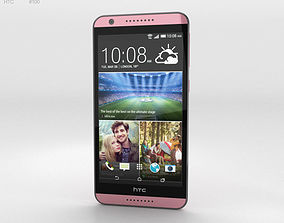 3D HTC Desire 820 Flamingo Grey