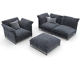 20 Sofa natuzzi cambre 2638 4 3D