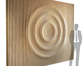 3D Parametric wall 004