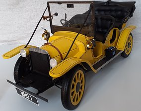 chief Doctor Who Bessie Car 3D Print STL Model Kit
