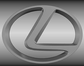 3D Lexus logo