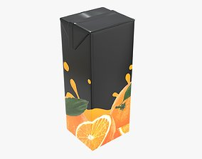3D Juice 1000ml cardboard box packaging