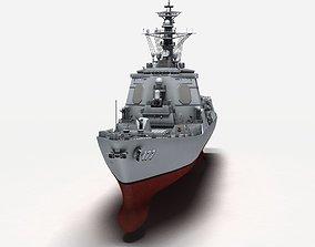 3D Atago class destroyer