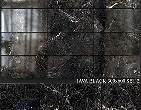 Yurtbay Seramik Java Black 300x600 Set 2 3D