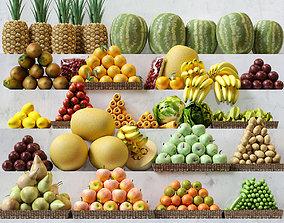 3D model Fruit Set