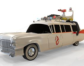 3D model Ghostbustrers ecto 1