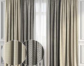 3D Curtain Set 113