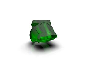Green Lantern Ring 3D print model