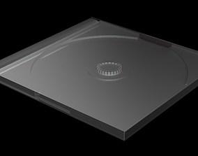 cd cover 3D model