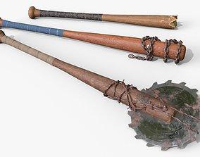 Baseball Bats Assets 02 game-ready