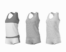 3D model Woman Sportswear 03 Base Mesh Design Kit