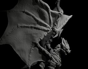 Dragon 3D model monster
