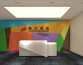 Office meeting room reception hall 19 3D
