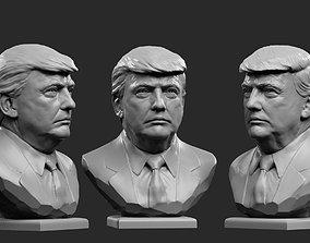 3D print model male Donald Trump