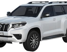 3D Toyota Land Cruiser 2021