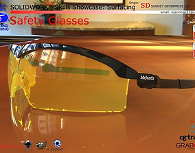3D model SW Skills - Safety Glasses