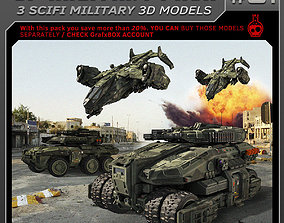 SF Military Pack 01 3D