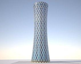 Tornado Tower low poly 3D