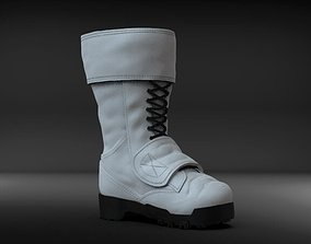 3D printable model The Punisher style boot