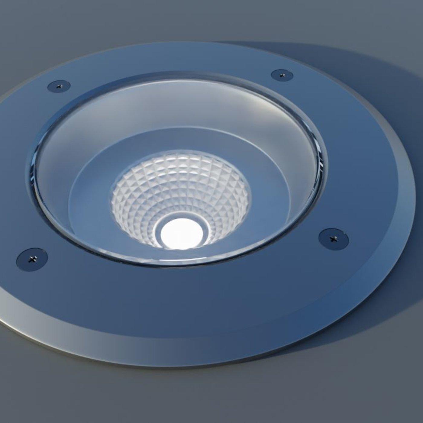 Street Light 13 Floor Lamp High-Poly-Version 3D model Blender-2.90.1