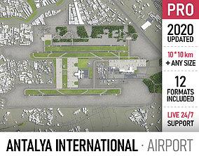 Antalya Airport - AYT 3D model