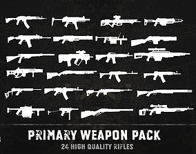 Primary weapon pack 3D model