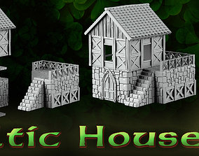 3D printable model Celtic House buildings