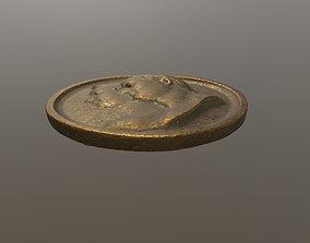 3D printable model Ancient medallion