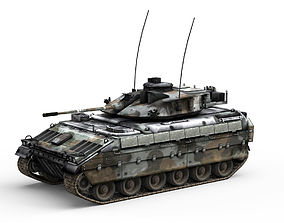 Armored Personnel Carrier 3D asset
