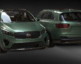 Kia Corento 2015 3D model