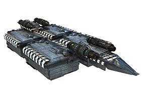 Transport Space Ship - MR 3D