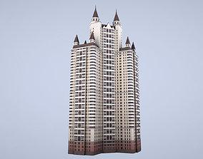 MSK Building 55 3D asset
