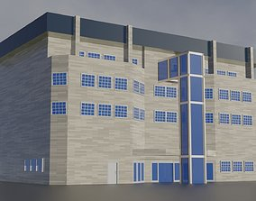 Company office building 3D asset