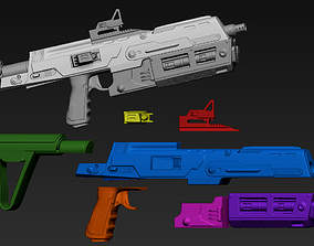 skywalker Sith Trooper Blaster 3D Printable Files