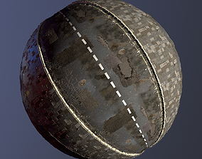 REALISTIC STREED ROAD PBR TEXTURE - SEAMLESS exterior 3D