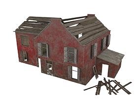Abandoned House 06 3D model
